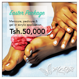 The Rub Spa Tanzania Dar es Salaam Manicure nails and pedicure